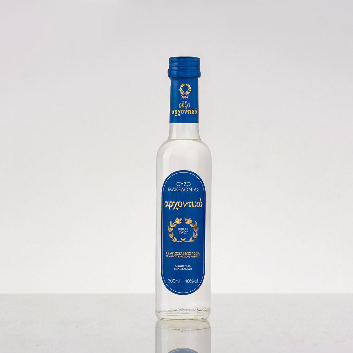 Ouzo Arhontiko bottle