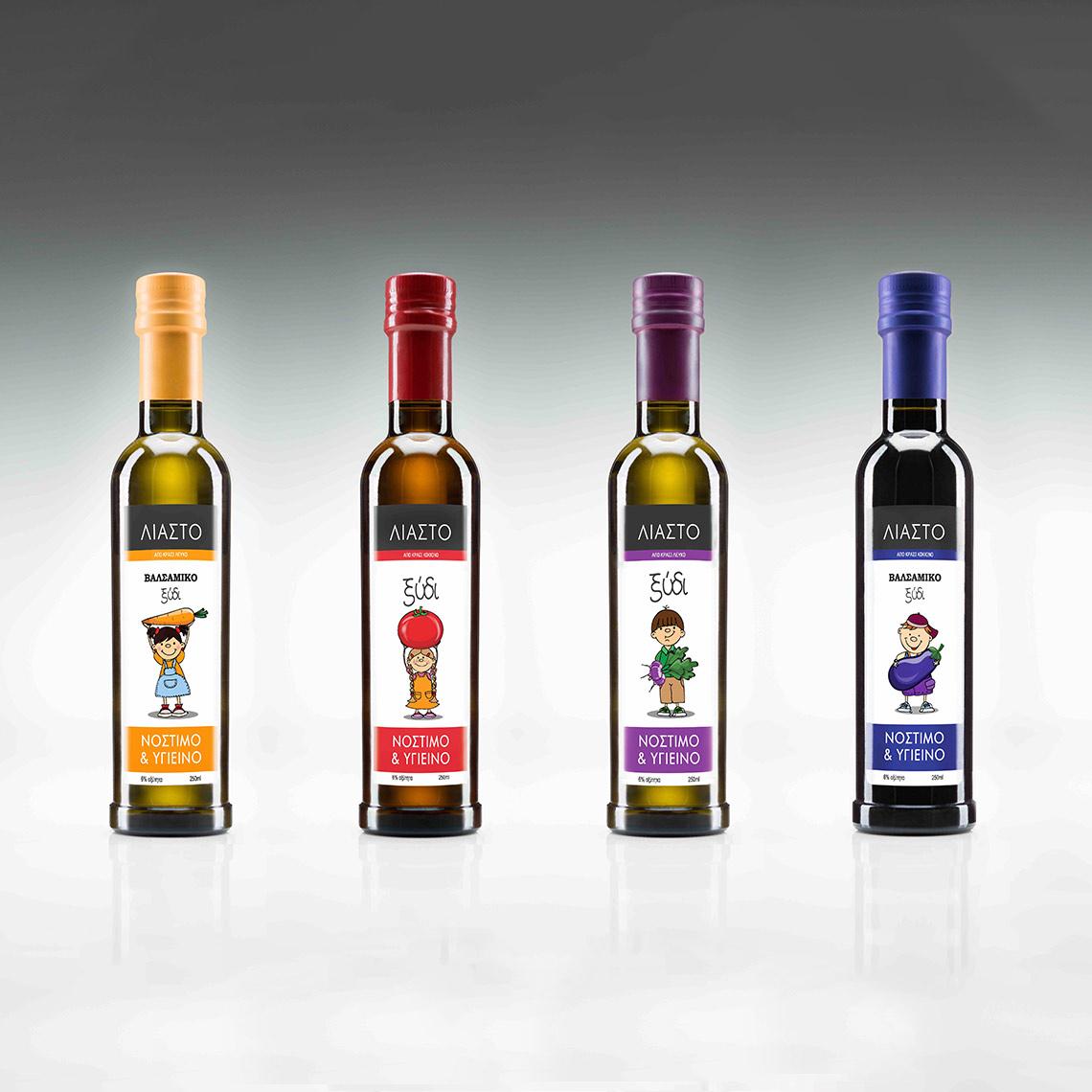 LIASTO vinegar bottle